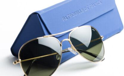 lunettes de soleil pilotes patrouille de france
